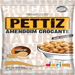PETTIZ-AMENDOIM-CROCANTE-NATURAL-DORI-500G