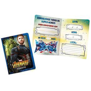 Convite-Pequeno-Avengers-3-Regina-8un-R313-