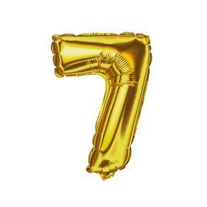 Balao-Metalizado-14-Dourado-E-Festa-Numero-7