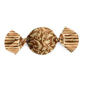 Embalagem-Aluminio-Trufas-15x16cromus-100un-Arabesco-Ouro-Marrom-